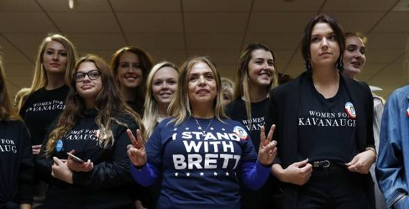Not All Women: GOP Women Are Furious Over Democrats' Anti-Kavanaugh Smear Campaign; UPDATE: Dem Strategists Worry.