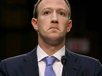 Report: Facebook Stock Decline Is Largest One-Day Drop in U.S. History.