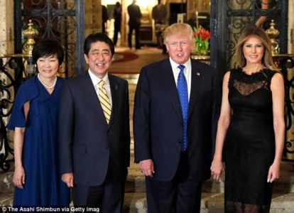 At Mar-a-Lago, Trump welcomes China's Xi in first summit