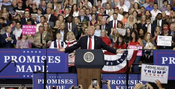Trump Has Second Highest 'Own Party' Presidential Approval Rating Since WWII at 500 Day Mark.