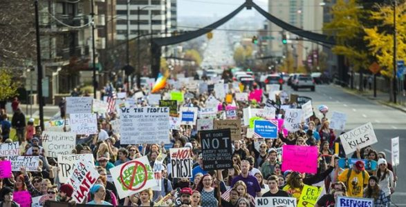 ICYMI: The Heart Of Anti-Trump Resistance Is Mostly A Bunch Of White Progressives Who Can Take Off Work