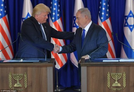 Trump to recognize Jerusalem as Israeli capital.