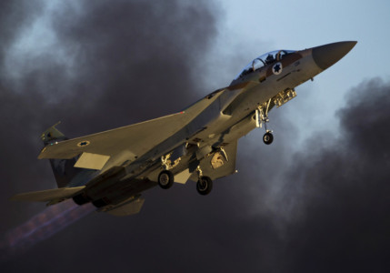 Syria accuses Israel of new strikes while IDF orders bomb shelters opened.