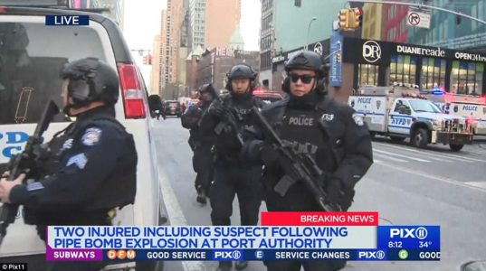 Terror in Times Square: Suspect reportedly tied to ISIS sets off rush-hour bomb.