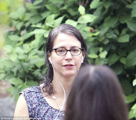 EXCLUSIVE: This is the FBI agent who worked on Hillary Clinton probe, labeled Trump supporters 'retarded' and texted 'f**k Trump' to her colleague lover - seen for the first time since her identity was revealed after release of IG report