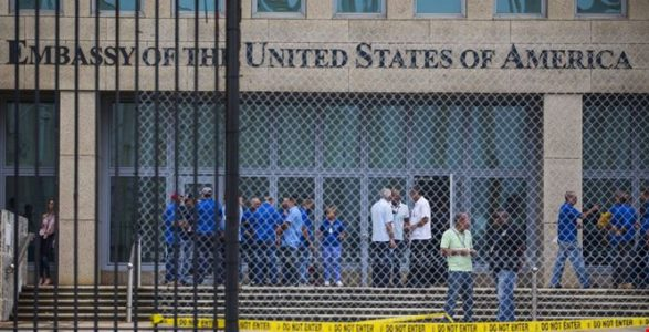 Cuban Diplomats Expelled from DC Embassy