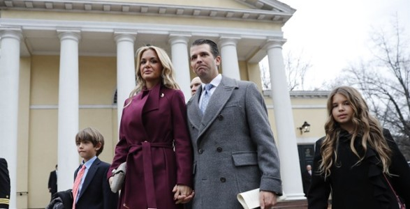 Donald Trump Jr.'s Wife Files for Divorce.