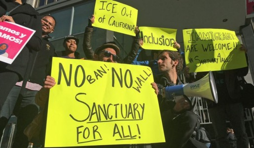 Half of all Americans now live in 'sanctuaries' protecting immigrants.