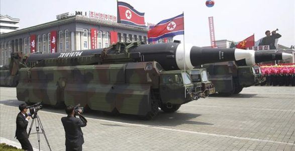 US: North Korean test missile explodes on launch.