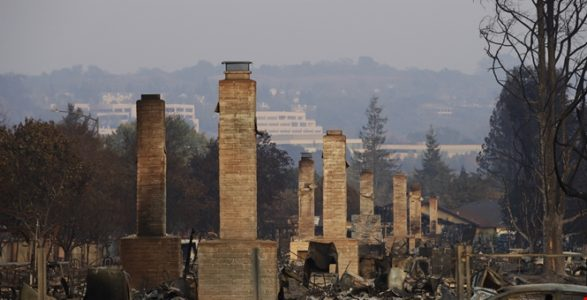 Wildfires now up to 100 miles wide as death toll reaches 40