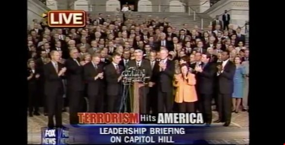 That Beautiful Moment When Members Of Congress Sang 'God Bless America' On 9/11