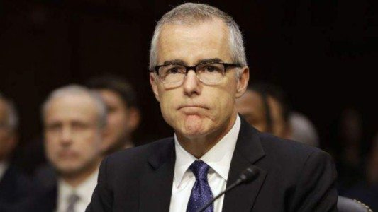 McCabe learned about Clinton emails on Weiner laptop a month before FBI alerted Congress, report says