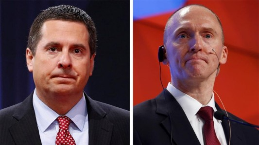 "Chairman Devin Nunes: American People Will Be ""Shocked"" If Remaining Pages of Carter Page FISA Application are Unredacted…"