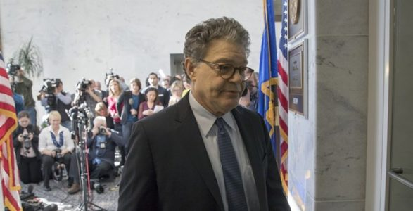 BREAKING: Al Franken To Resign 'In Coming Weeks'; Immediately Pivots To Blame Trump.
