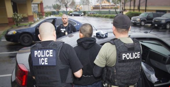 ICE arrests 450 illegals in sanctuary cities