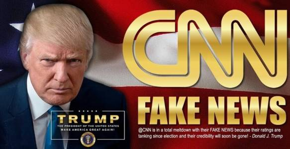 President Trump: 'Fake News CNN Is Dead'