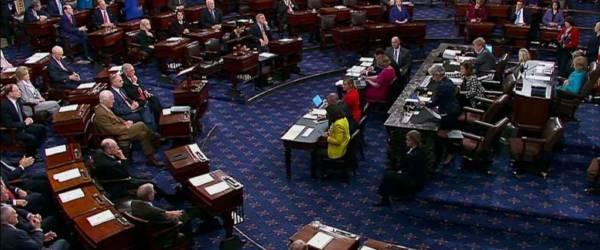 Senate votes to advance Kavanaugh nomination, setting up final vote for Saturday.