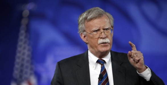 John Bolton: The Right Man, the Right Job at the Right Moment.