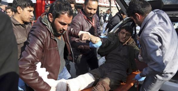 95 Killed As Taliban Militants Attack Afghan Capital.
