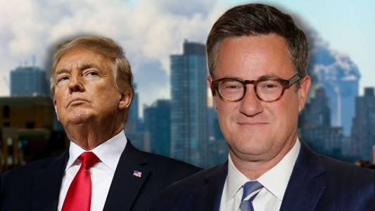MSNBC's Joe Scarborough hit for saying Trump hurts 'dream of America' more than 9/11 terrorists.