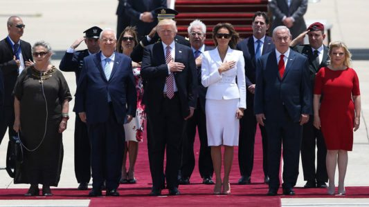 Trump Arrives in Israel for Historic Presidential Trip to Holy Land.