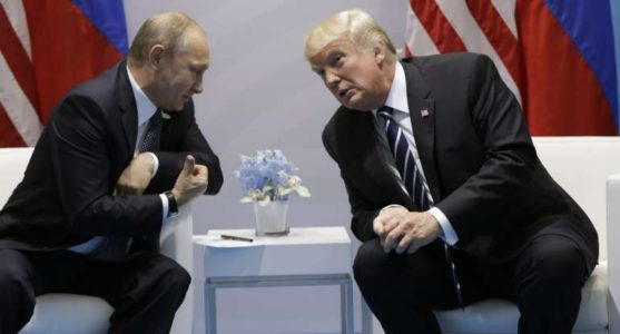 Trump, Putin Meet; U.S. President Predicts 'Very Positive Things Happening'