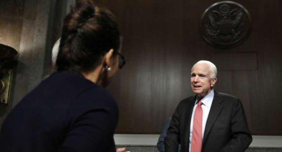 Trump's 'America First' vs. McCain's 'America Last'