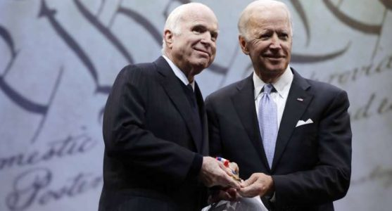 McCain Slams 'Half-Baked, Spurious Nationalism' While Accepting Liberty Medal