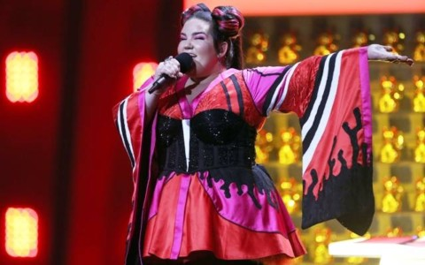Israeli Wins Eurovision Song Contest, Says 'I Love My Country'