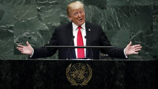 Watch live: Trump delivers address to the UN General Assembly.