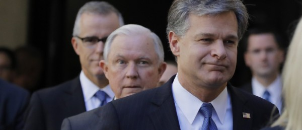 'By The Book' — FBI Director Christopher Wray Defends McCabe Firing.
