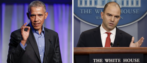 Obama Just Got Caught In A Massive Scandal So Ben Rhodes Is Telling Yarns.