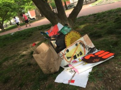 Climate Protesters March For Cleaner Earth Then Leave Piles of Trash Behind (PHOTOS)
