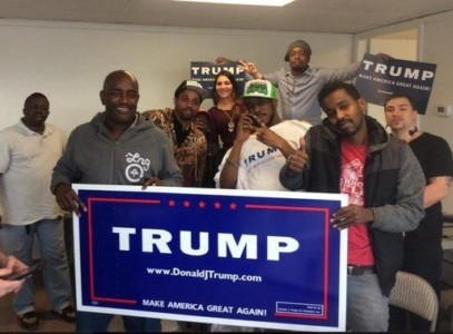 Stunning poll finds support for Trump doubles among blacks in one week.