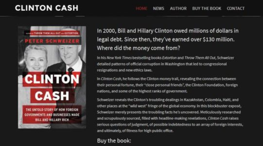"Corruption Book ""Clinton Cash"" Sells Out as New Revelations on Clinton Crime Family Make Headlines"