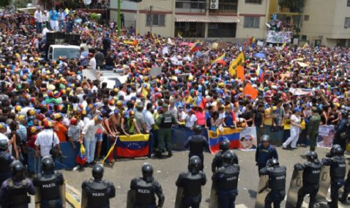 VENEZUELA BRUTAL AND UTTER CHAOS