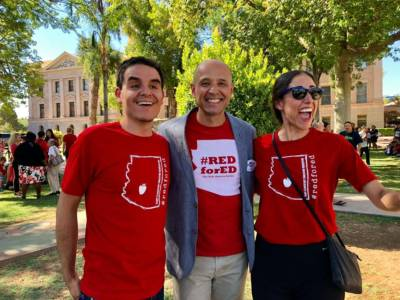 The Rainbow Conspiracy Part 14: Stealth Socialist Steve Phillips Backs David Garcia, Plots Turning Arizona Permanently Blue