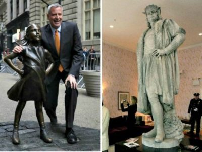 Bill de Blasio Orders Review of All NYC Monuments; Considering Removal of Christopher Columbus