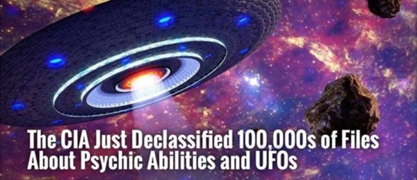 The CIA Just Declassified 100,000s of Files About Psychic Abilities and UFOs