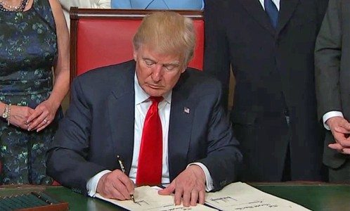 Trump to sign executive order to withdraw from TPP