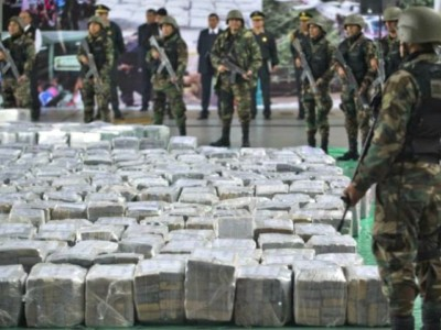 U.S. Captures $7B of $110B Laundered Across Border Every Year… Would Fund Wall in 4