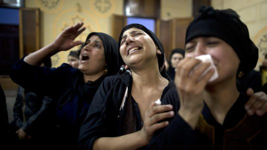 Coptic Christian attack: 10 of the 29 dead ID'd as children heading to monastery to pray.