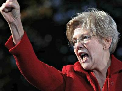 The Left Promotes Elizabeth Warren's Presidential Aspirations
