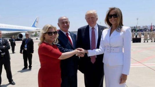 Sara Netanyahu and Melania Trump agree: 'Media hate us but people love us'
