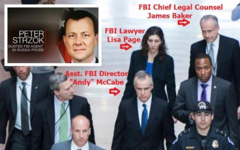 """Obstruction of Justice"" – Special Agent Strzok Text Message Highlights FBI Investigative Intent…"
