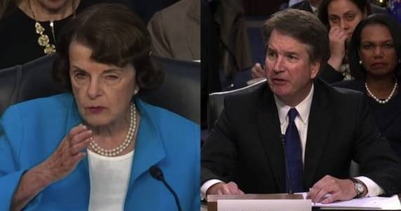 The left's attempted destruction of Kavanaugh is obscene.
