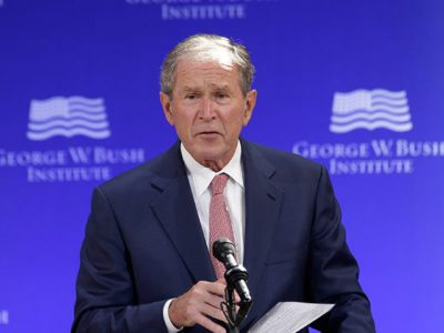 Mansour: 13 Clueless Lowlights from George W. Bush's Trump-bashing Speech
