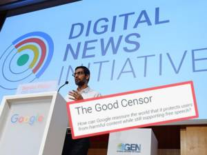 Allum Bokhari: Google 'Admits They're Moving Towards Censorship'