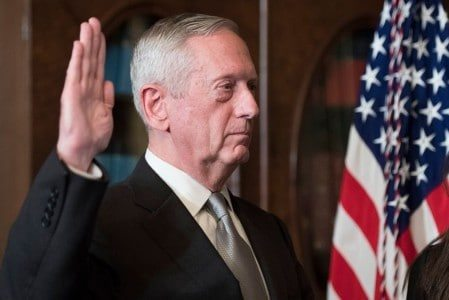 Sec. of Defense Mattis Sent DoD Employees a Letter Right After Swearing In — 'Mad Dog' Means Business
