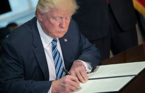 Report: A YUUUGE part of Trump's agenda is right on track